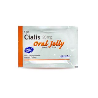 Cialis 20 mg Jelly - 1 Week Pack - 7 pcs.